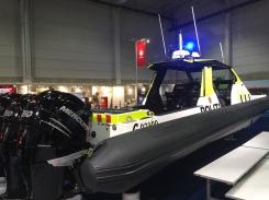 Oslo politidistrikts nye båt.