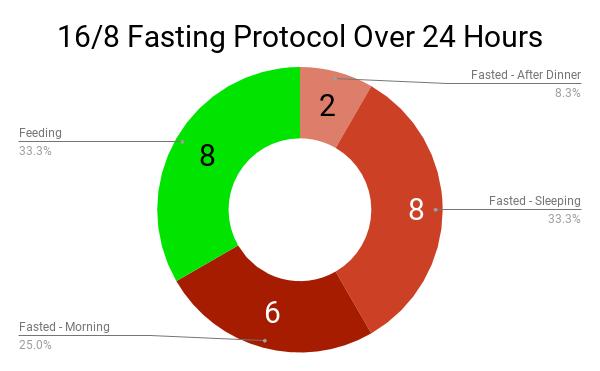 college-diet-intermittent-fasting-pie-chart